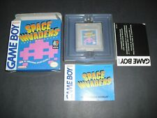Space Invaders Complete in Box & NEAR MINT COND for Nintendo Gameboy! Authentic