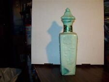 MCGILL CANADIAN MINT BLUE GREEN WHISKEY DECANTER EMPTY