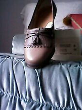 LADY GABOR SIZE 5H TAUPE/STONE TRADITIONAL COUNTRY SHOE USED