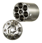Stainless Conversion Cylinder For The 1858 Pietta 44 Cal. To .45 Lc