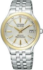 CITIZEN exceed eco-drive radio EBG74-2792 mens watch in Box genuine from JAPAN