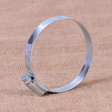 Adjustable Worm Drive Pipe Hoop Hose Air Intake Filter Clamp Fit For Motorcycle