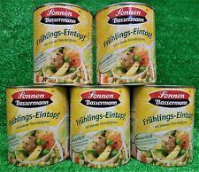 (4,38€/L) 5x Sonnen Bassermann FRÜHLINGS EINTOPF mit Fleischklößchen gratis Vers