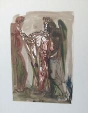 Salvador Dali The Divine Comedy Purgatory #11 Woodblock Art Print