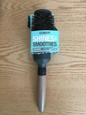 Conair Shines and Smoothes Ceramic Wood Boar Bristles Brush