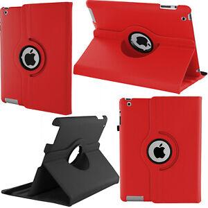 KIQ iPad 9.7 2nd 3rd 4th Gen Case, Premium PU Protection Case, Multi-view Stand