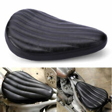 "13""WEST EAGLE RIBBED TUCK ROLL SOLO SEAT For HARLEY BOBBER CHOPPER SOFTAIL #8"