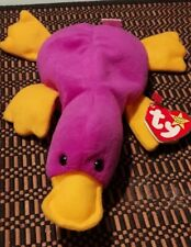 Vintage Ty Beanie Babie Original Patti The Platypus Rare collectible with Errors