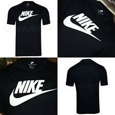 Sportswear Futura Icon Nike Leisure T-shirt Black Cotton Men M Medium