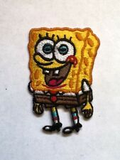 Iron On/ Sew On Embroidered Patch Badge Spongebob Squarepants Under the Sea