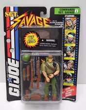 Hasbro GI Joe Sgt. Savage Commando Sgt Savage figure, with VHS, Brand New!