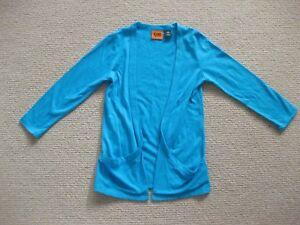 Girls Turquoise Jacket Size 6