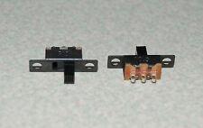 2pcs SS12F15 2 Position On-Off 1P2T SPDT Panel Mini Slide Switch