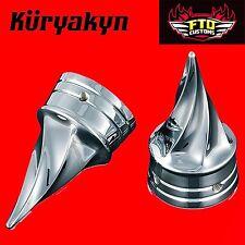Kuryakyn Chrome Twisted Axle Caps 84-'06 Touring 1217