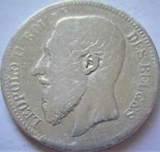 Belgie Zilveren 2 Francs 1866