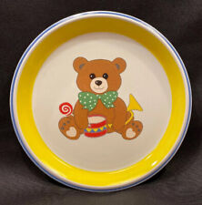 Mikasa Child's Teddy Bear Plate by Bob Van Allen