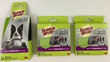 3M Scotch Brite Auto Pet Embedded Hair Remover Starter Kit With 21 Refill Sheets