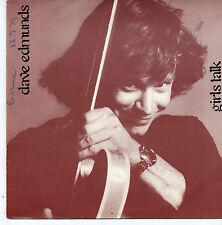 "Dave Edmunds - Girls Talk 7"" Single 1979"