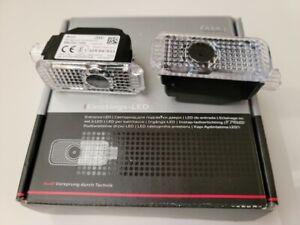 Genuine Audi Beam OEM Audi Rings LED Entrance Welcome Puddle Light Accessory