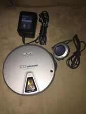 Sony CD Walkman D-EJ01 Slide Load - Remote RM-CD01ELT - AC Power AC-e455A