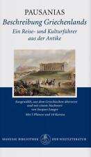 Beschreibung Griechenlands von Pausanias (1998, Gebundene Ausgabe)