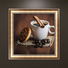 DIY 5D Diamond Embroidery Painting Coffee Cross Stitch Crafts Home Decor