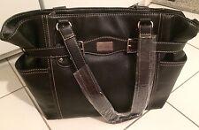 Club Rochelier Black Leather Handbag