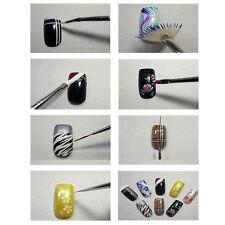 Nail Art Design 23pcs Set Dotting Painting Drawing Polish Brush Pen Tools Kit