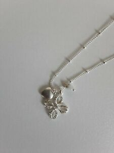 FOSSIL silver Necklace pendant chain