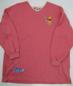Disney Winnie The Pooh Pink Sweat Shirt Size M