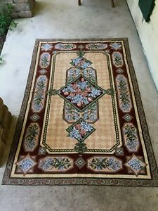 """47""""x72"""" Flowered Accent/Area Rug"""