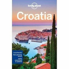 Lonely Planet Croatia Travel Guide Book (Paperback, 2017)   NEW