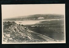 Somerset BREAN DOWN Uphill Mendip Hills Used 1958 RP PPC