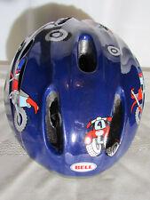 Bell Child Star Helmet Dark Blue Red Motorcycle 4 Wheeler Wheels Size 5-6
