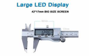 """LED Digital Caliper Vernier 6"""" 150mm Electronic Ruler Gauge Stainless Steel USA"""