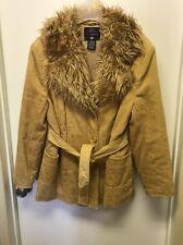 Faded Glory Ladies 12/14 Outerwear Corduroy Coat