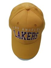 New LA Lakers Hat Men's Adjustable Yellow Purple One Size Fits All