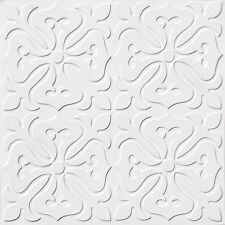 Ceiling Tile Decorative - Apply over Popcorn Ceiling - DIY Glue Up #101