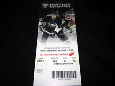Pittsburgh Penguins PRE1 Game Ticket Stub 1st game ever