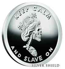 2016 1OZ Slave Queen V2 Proof - Silver Shield #4 - Slave Queen Series .999 Pure