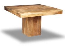 LIGHT DAKOTA MANGO CUBE DINING TABLE (32L)