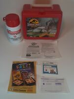 Jurassic Park Lunch Box~Vintage 1993 Thermos~New Complete~Original Tags Unused