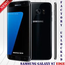"Samsung Galaxy S7 EDGE G935V GSM & CDMA Unlocked (32GB) 5.5"" HD 12MP Black"