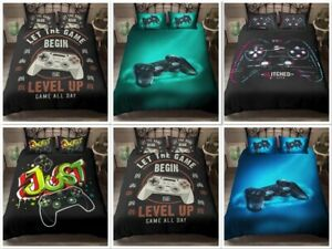 Gamer Bedding Set Gamer Quilted Duvet Set Pillowcase King Queen Single Double