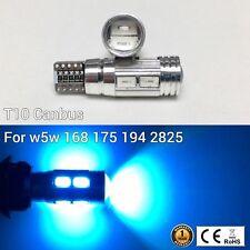 T10 168 2825 12961 3rd Brake Light Ice Blue 10 SMD Canbus LED M1 For Chevrolet