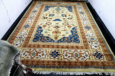 11X18 1960's Breathtaking Mint Hand Knotted Soft Wool Soltanabad Traditional Rug