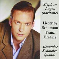 tephan Loges - Schumann, Franz and Brahms Lieder [CD]