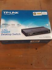 Tp-Link 5-Port Gigabit Desktop Switch | 1000 Mbps | Plug and Play | Tl-Sg1005D