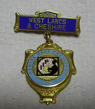 """IIP West Lancs & Cheshire """"CENTRE PAST PRESIDENT"""" Badge (Investors In People?)"""