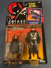 BATMAN THE ANIMATED SERIES TURBOJET BATMAN NEW ON CARD KENNER 1992